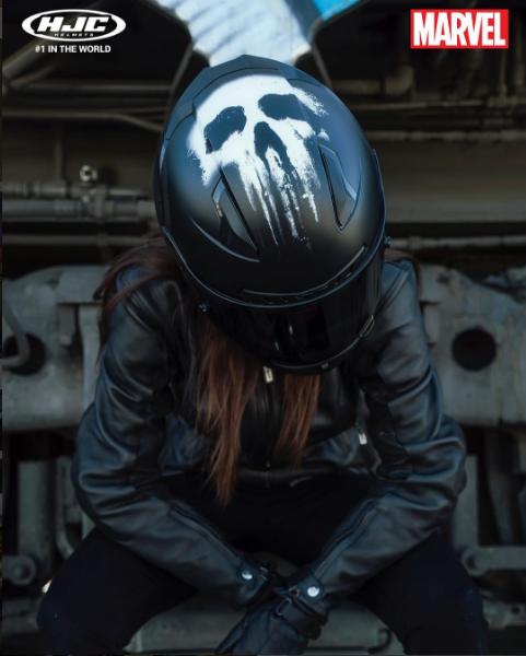 Awesome Hjc Marvel Helmets Womens Motorcycle Helmets