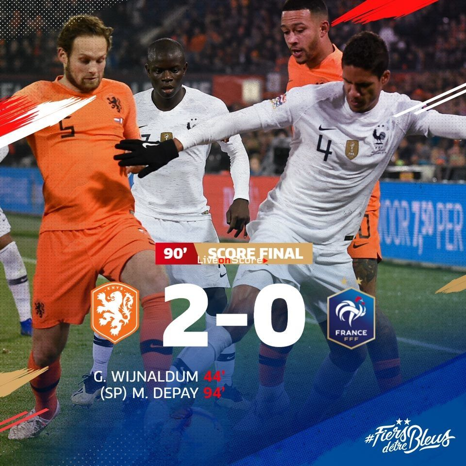 Netherlands 2 0 France Full Highlight Video Uefa Nations League 2018 2019 Allsportsnews Football France Highlig League Full Highlights Match Highlights