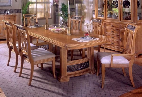 Oak Dining Table And Chairs Cheap Modern Oak Dining Room Oak