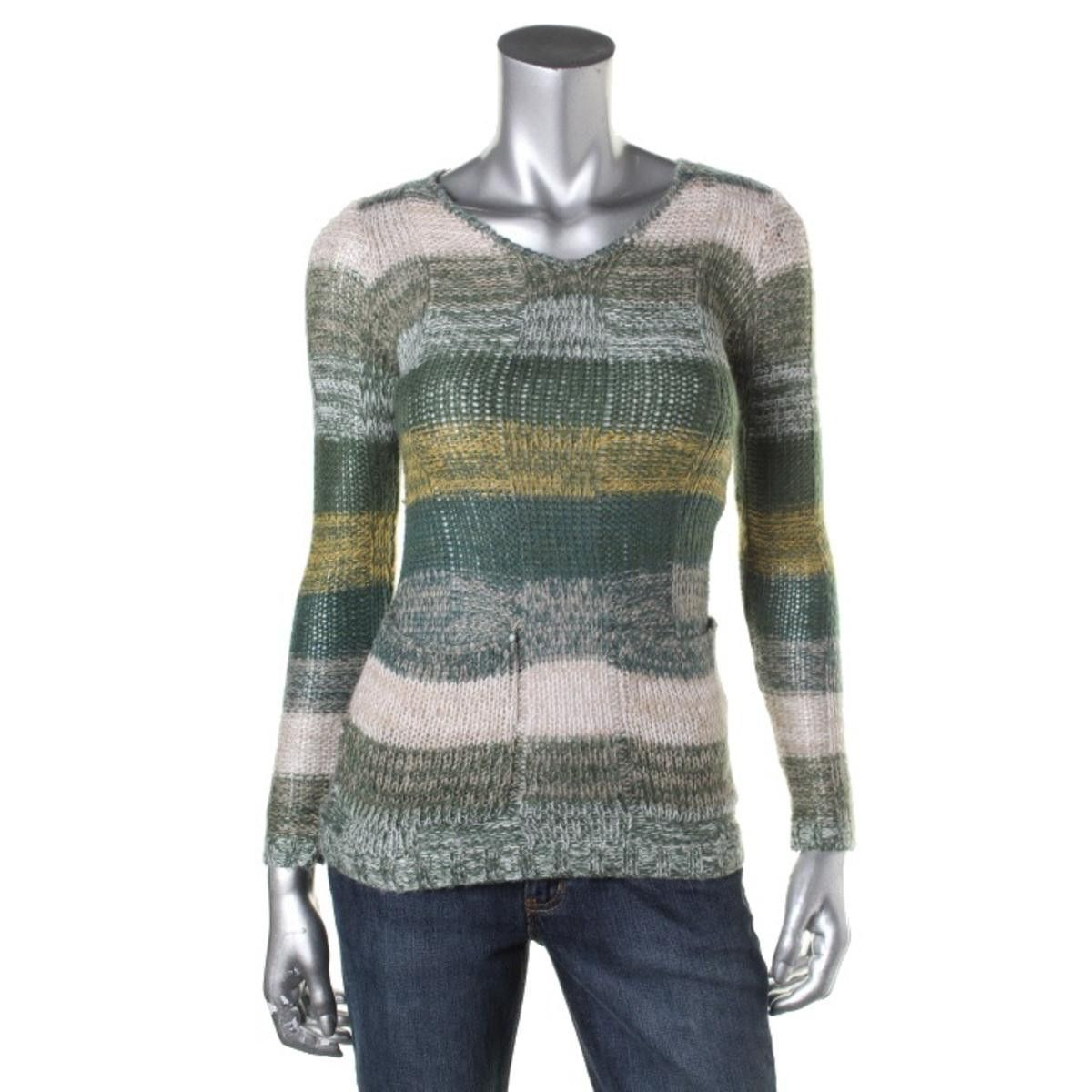 Ultra Flirt Womens Striped Long Sleeves Tunic Sweater | Products ...