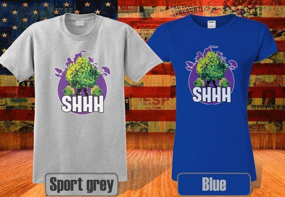 1215c099 #funnyshirts Fortnite Bush T-Shirt SHHH Funny Gaming Meme For Men &Women  Cool MC1