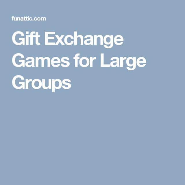 Group gift games for christmas
