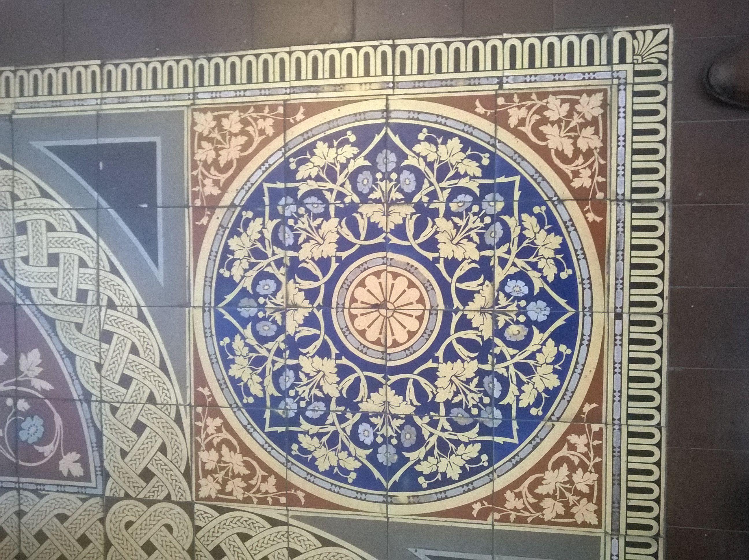 Museum of Scotland Edinburgh floor tiles. | Tile patterns ...