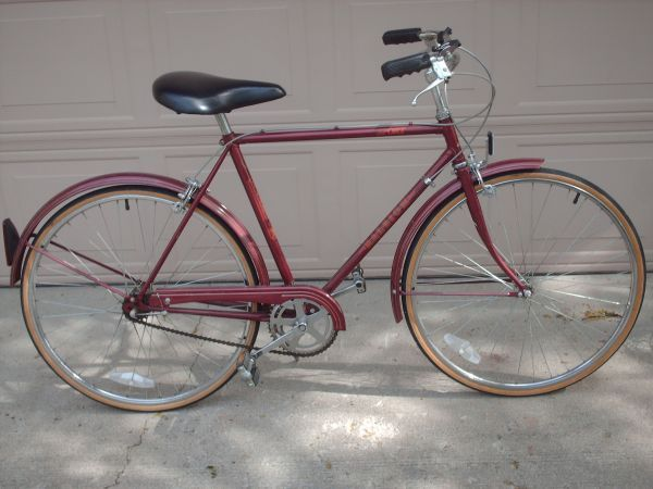 3 Speed English Racer Bicycle Bicycle Vintage Bicycles Modern Bike