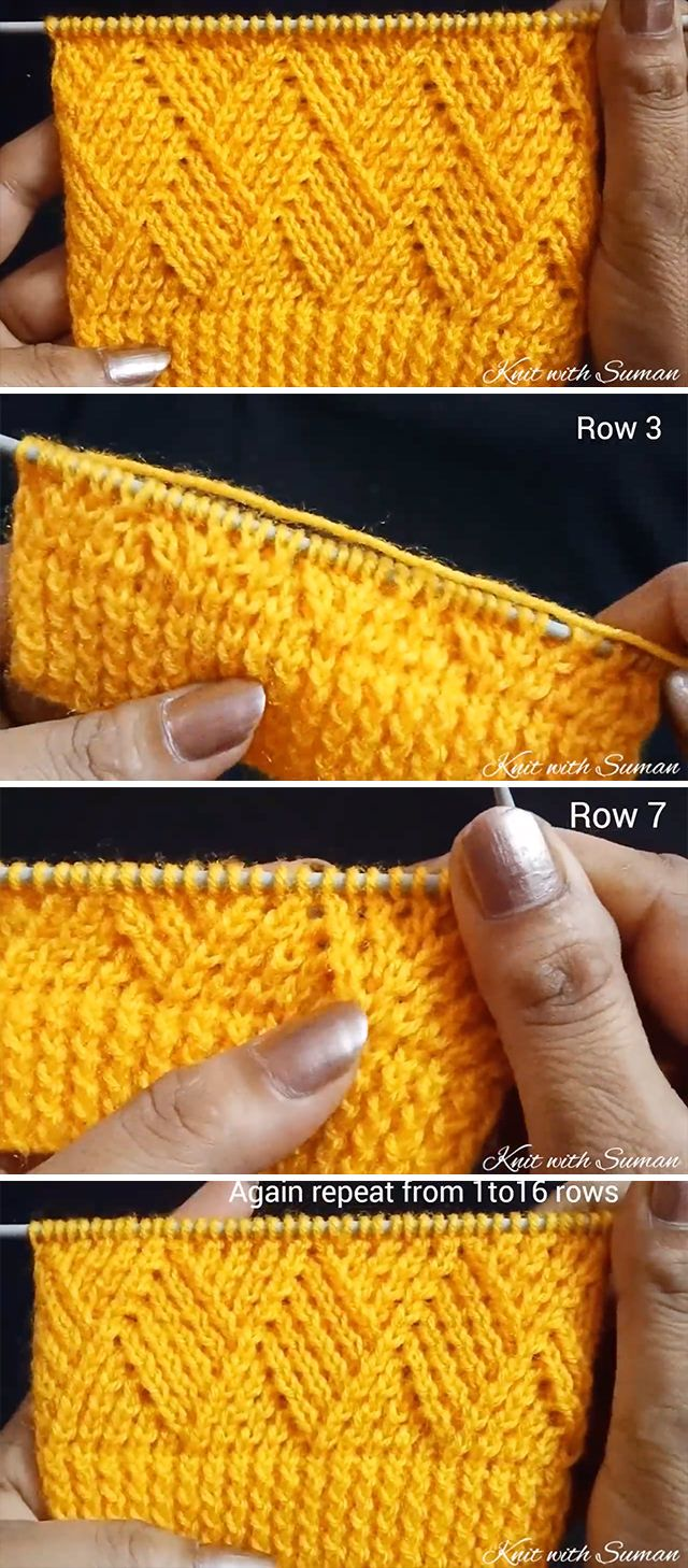 Knit Barfi Stitch You Should Learn | CrochetBeja #crochetstitchespatterns