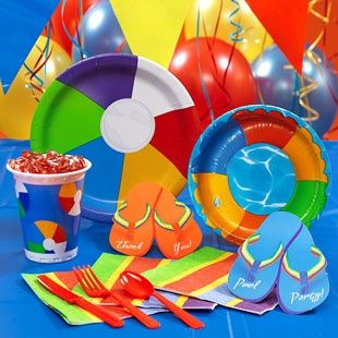 Beach Ball Party Decorations Diy Beach Ball Decorations Perfect For An Outdoor Pool Party