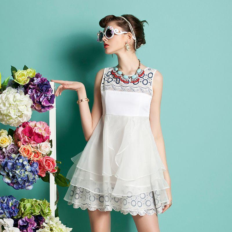 chiffon dress - http://zzkko.com/n176697-ay-2013-new-listing-organza-material-multilayer-lotus-fashion-dress-/-chiffon-dress.html $62.67
