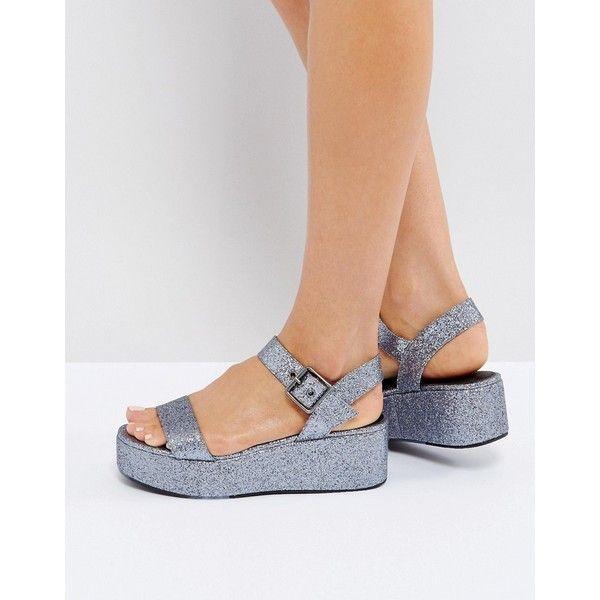 Asos Sandales Compensées Toucan - Nue uZ682io