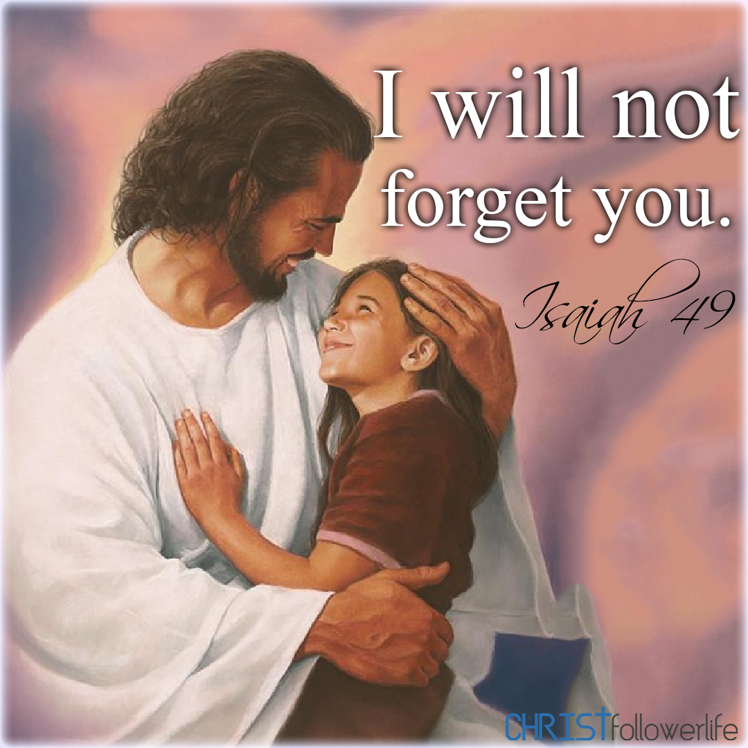 I will not forget you Isaiah 9  Jesus painting, Love children