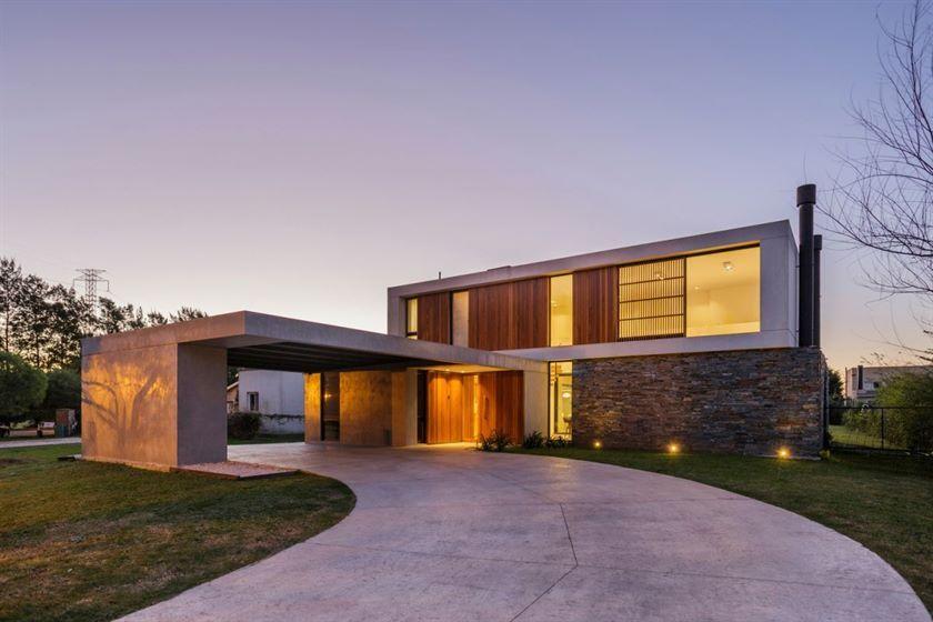 Das Flat Roof House ein uralter Stil, der modern wurde