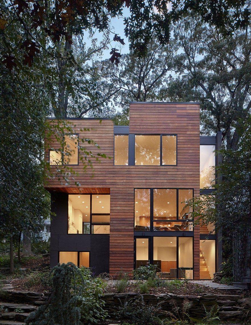 Modern Home Design in Virginia Showcasing Elegance and Warmth ...