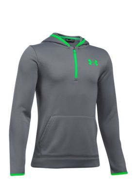613cb56c6 Under Armour Under Armour Fleece Storm Novelty Hoodie Boys 8-20 - Graphite  - Xs