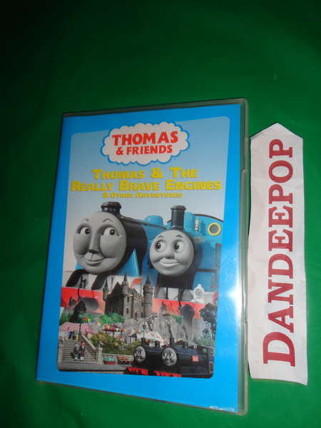 Thomas The Tank Engine Thomas & Friends Thomas & The Really Brave Engines DVD find me at www.dandeepop.com