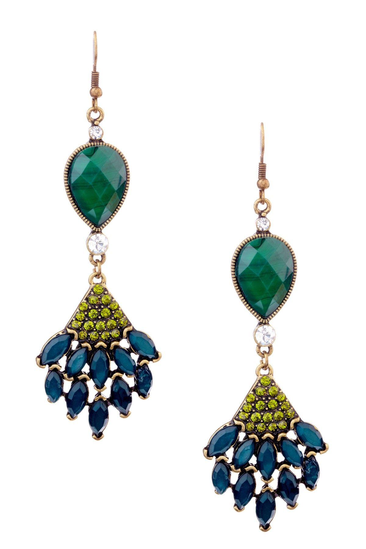 Bansri  Peacock Earrings-Gorgeous