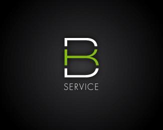 BK Service-Teixeira-typographic-logo-Letter-b-logo-designs-inspiration-designmain-com