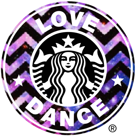 Starbucks Sticker Coffee Waterproof Flask Galaxy Purple Vinyl Decal NEW