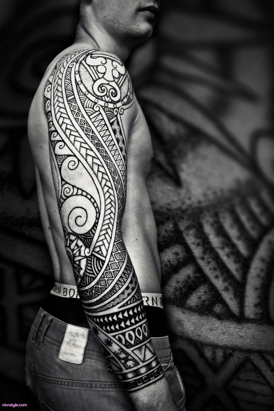The Titan Sleeve Tattoo  http://www.ntvstyle.com/the-titan-sleeve-tattoo/ NTV Style