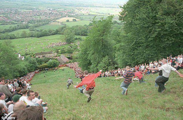 The Uk S Weirdest Tourist Events From Cheese Rolling To Welly