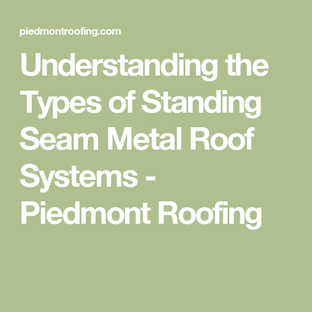 What Makes A Standing Seam Metal Roof Such A Good Choice For Your Home Standing Seam Metal Roof Metal Roof Standing Seam