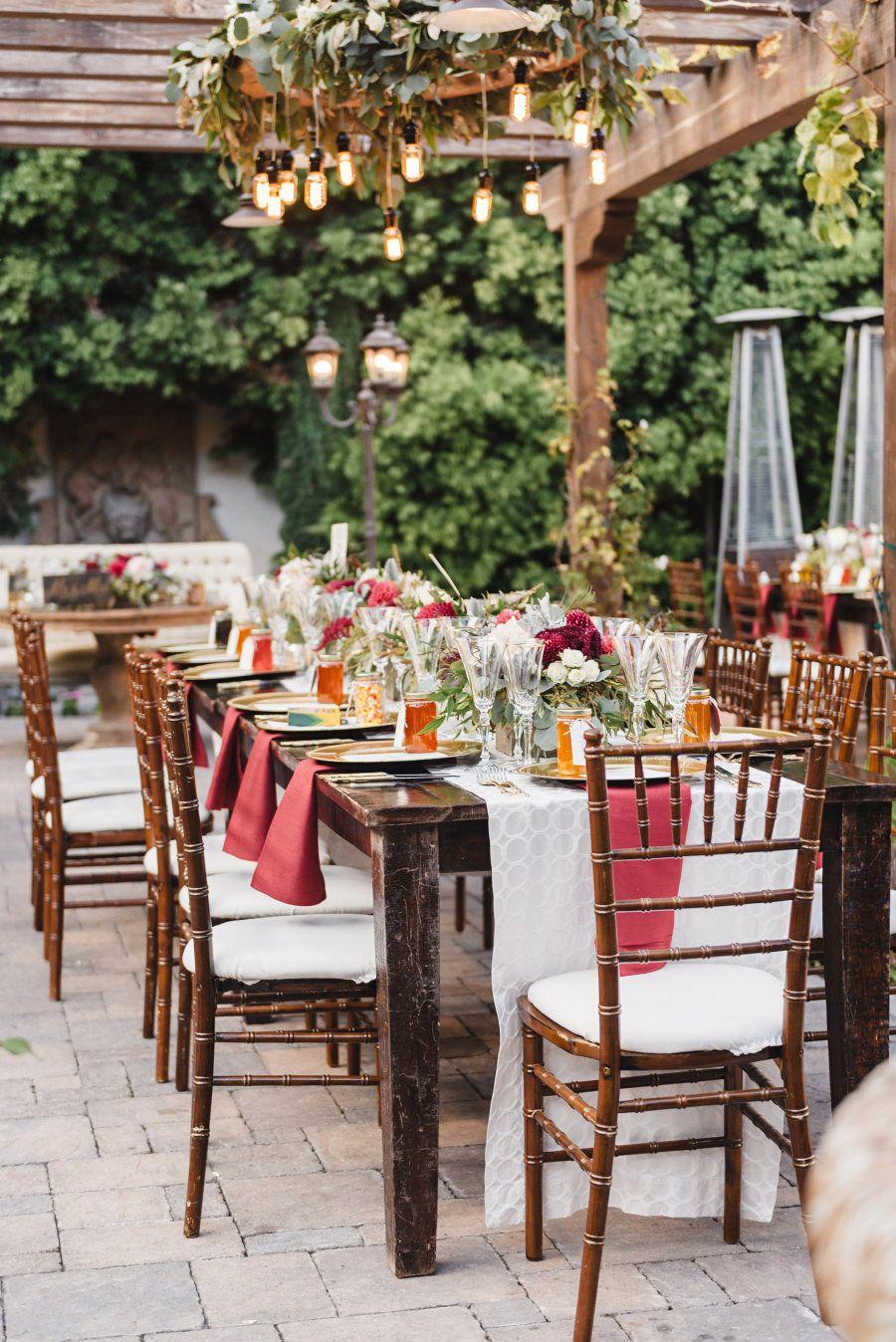 Rich + Romantic San Juan Capistrano Fall Wedding Fall