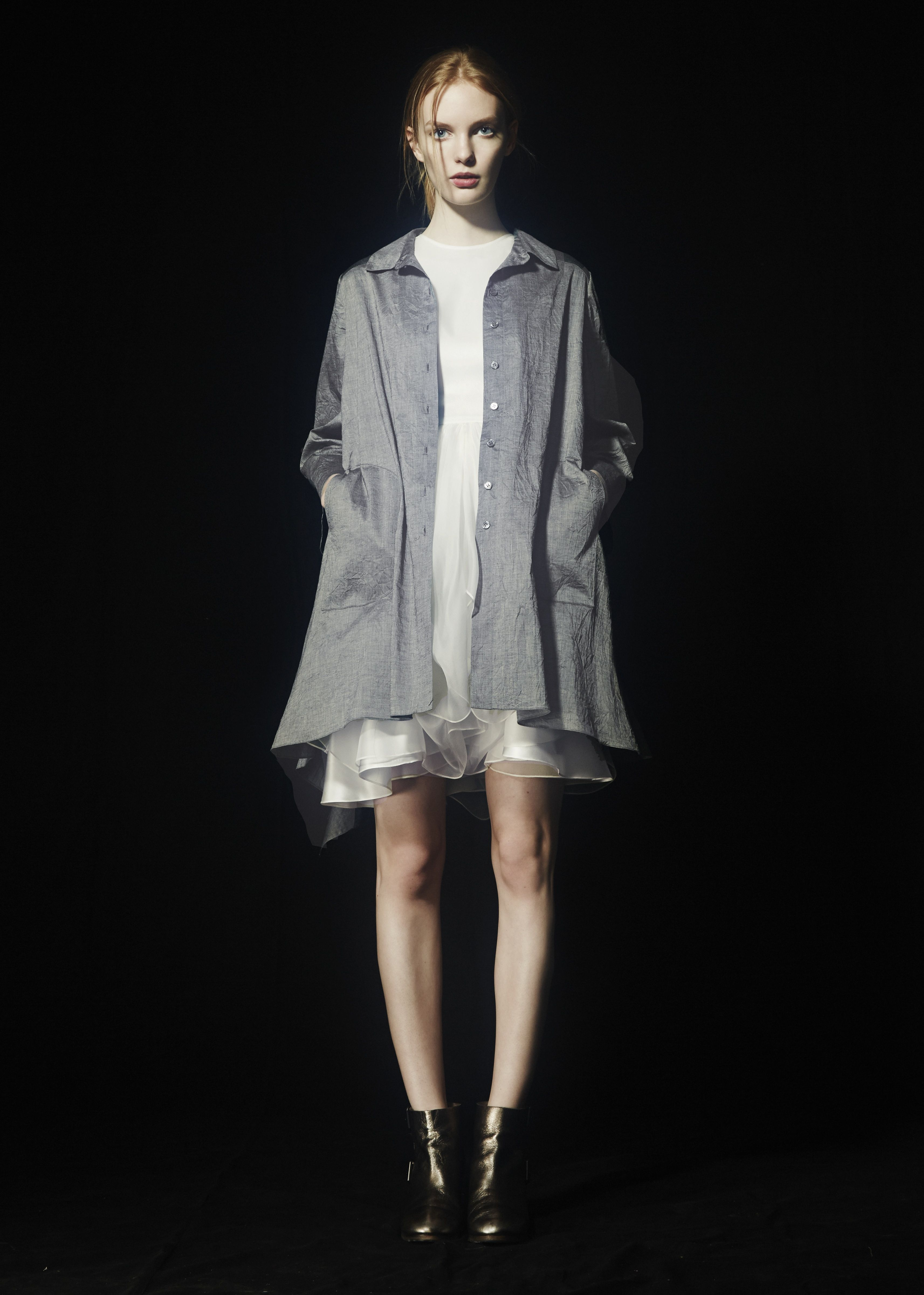 Eudora shirt Muse gown