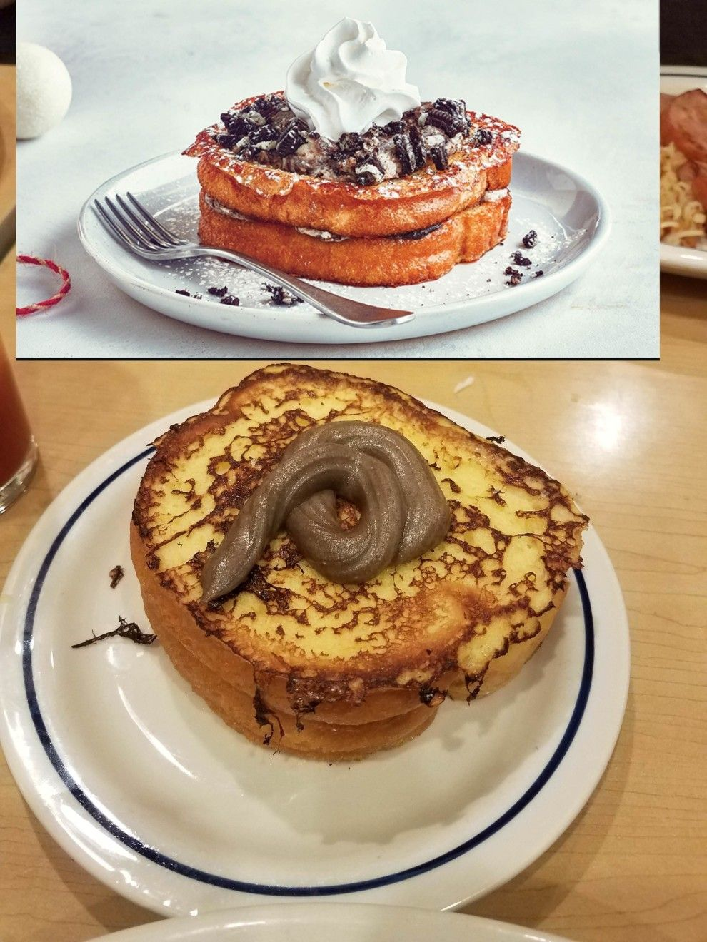 ad8b28bf5 What you see isn't always what you get. French Toast, Online Shopping