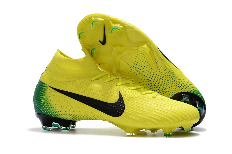 medio litro Derivar Limpiar el piso  2018 Nike Mercurial Superfly VI Heritage 2006 FG - Yellow/Green/Black the.  Heritage ID pack cleats made to celebrating the World Cup in the past  .Inclu… | Chuteiras