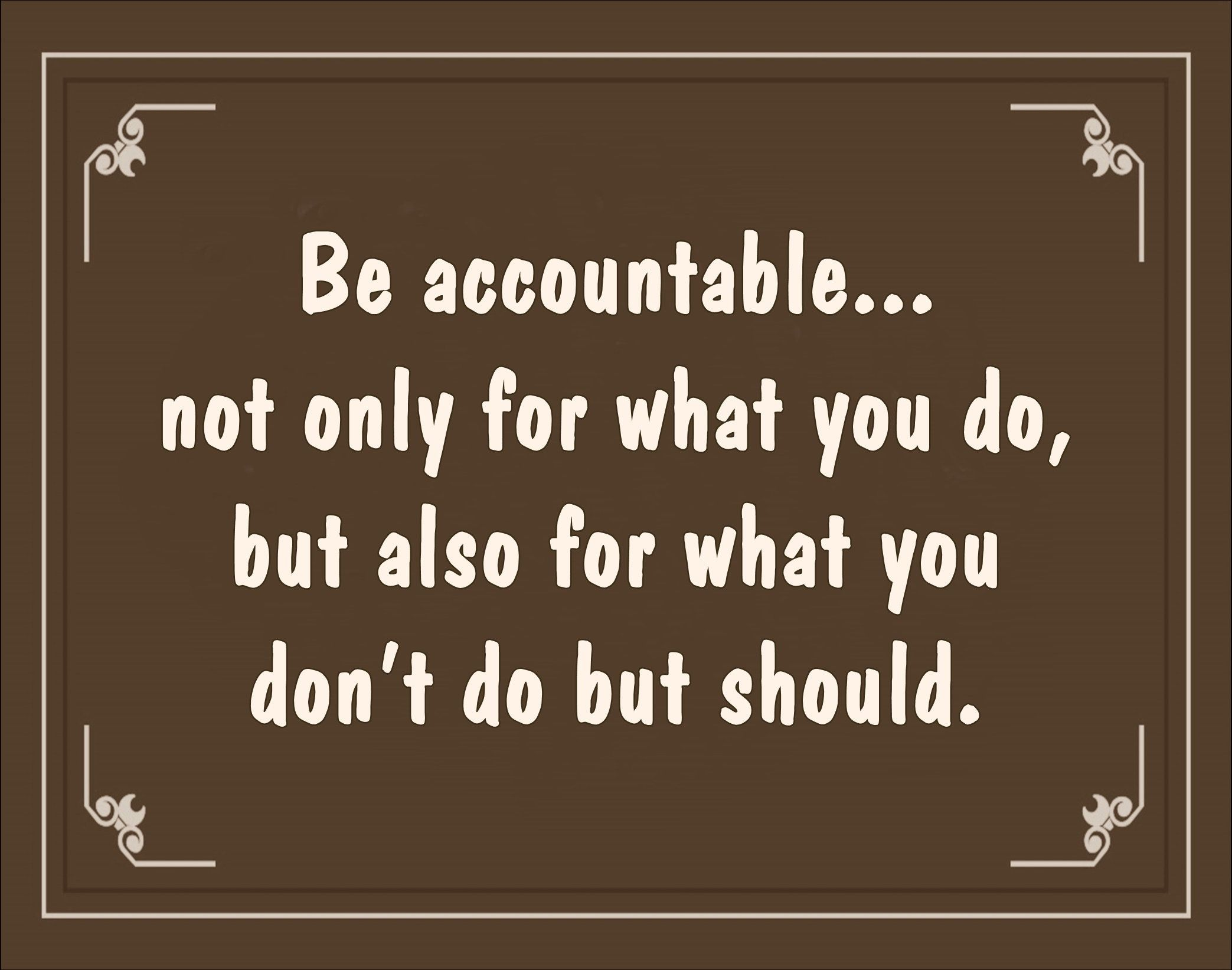 Printable Wall Art Accountable Quote Wall Decor Gift For Men Women Digital Download Poster Teacher Accountability Quotes Work Quotes Appreciation Quotes