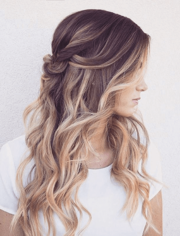 Frisuren Lange Haare Locken Hochstecken Hair Dy In 2019 Hair