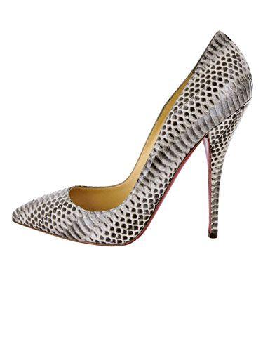 Sleek Snakeskin Get the Look  Christian Louboutin shoe cd58d155fd
