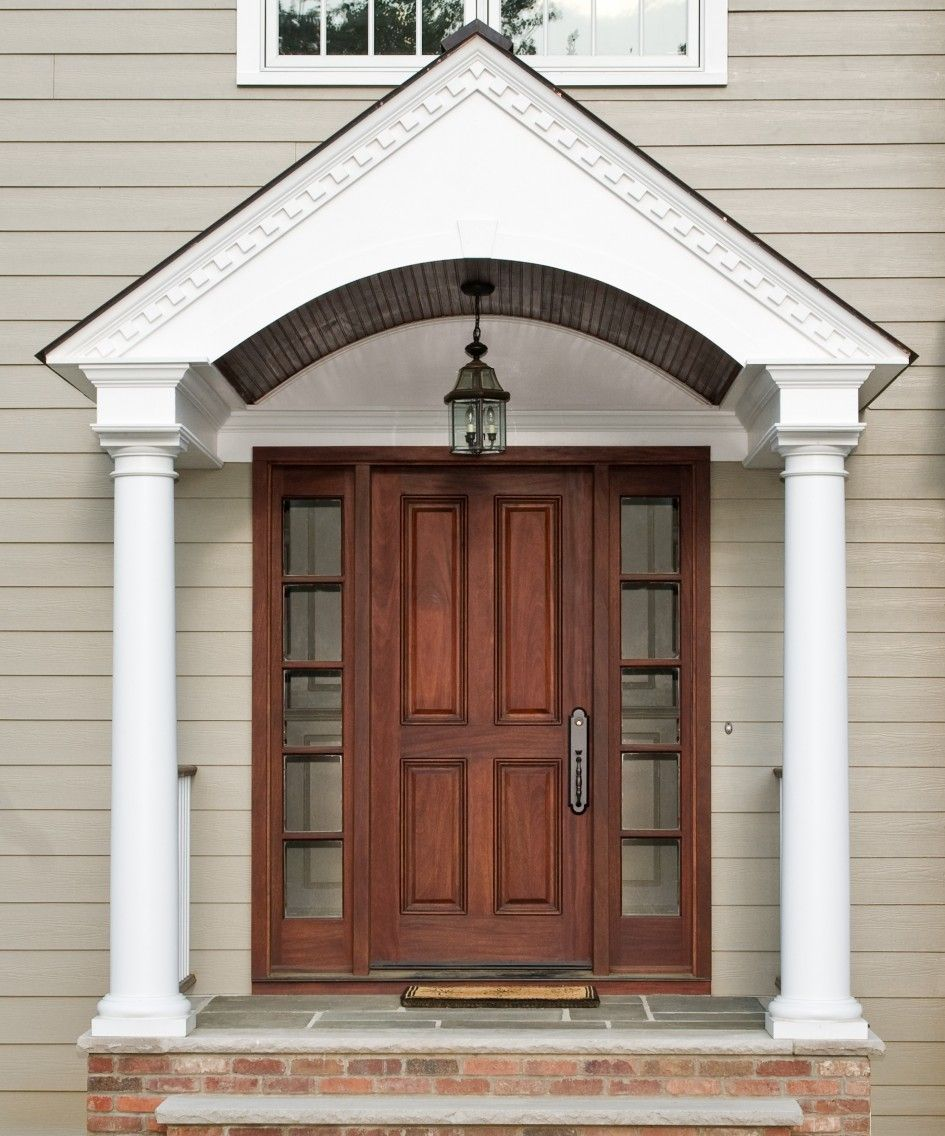 Choosing excellent double front doors for homes design for Double door ideas