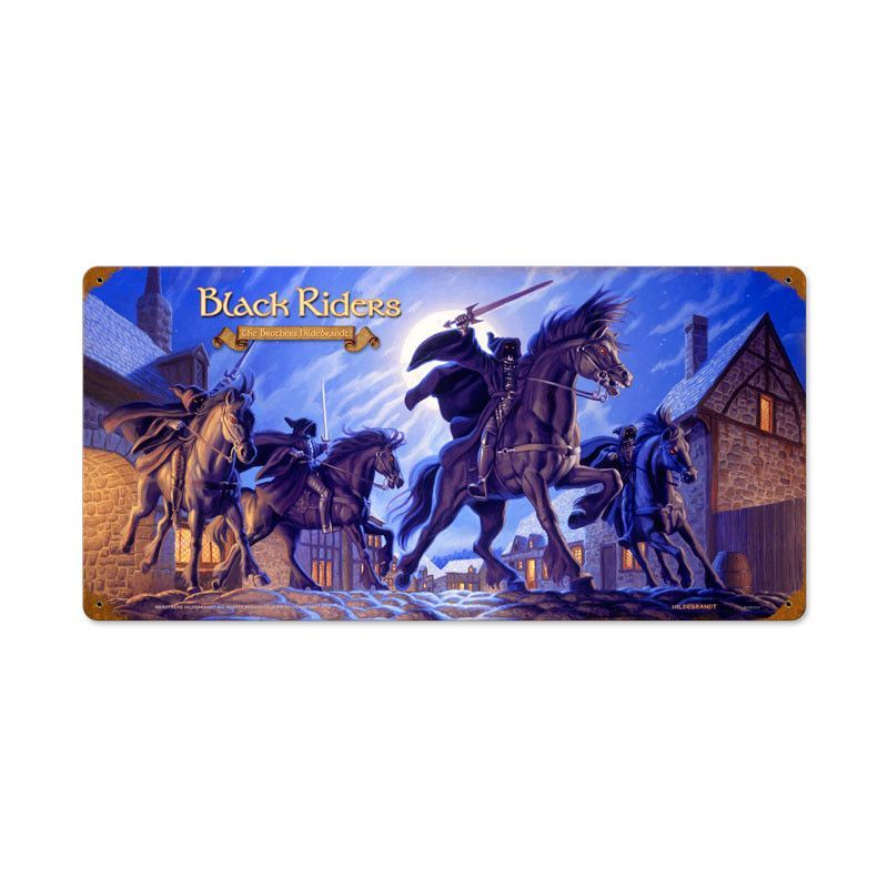 Lord of the Rings – Black Riders Metal Sign