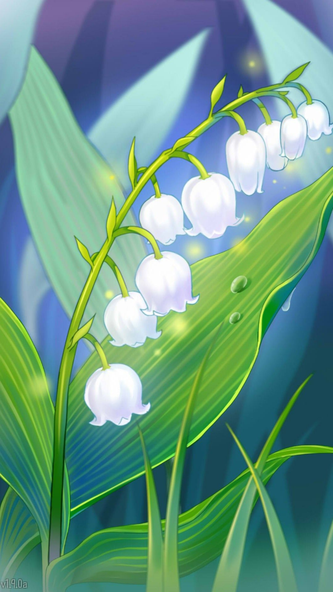 Ray's route. Lily of the Valley. Lily of the valley has