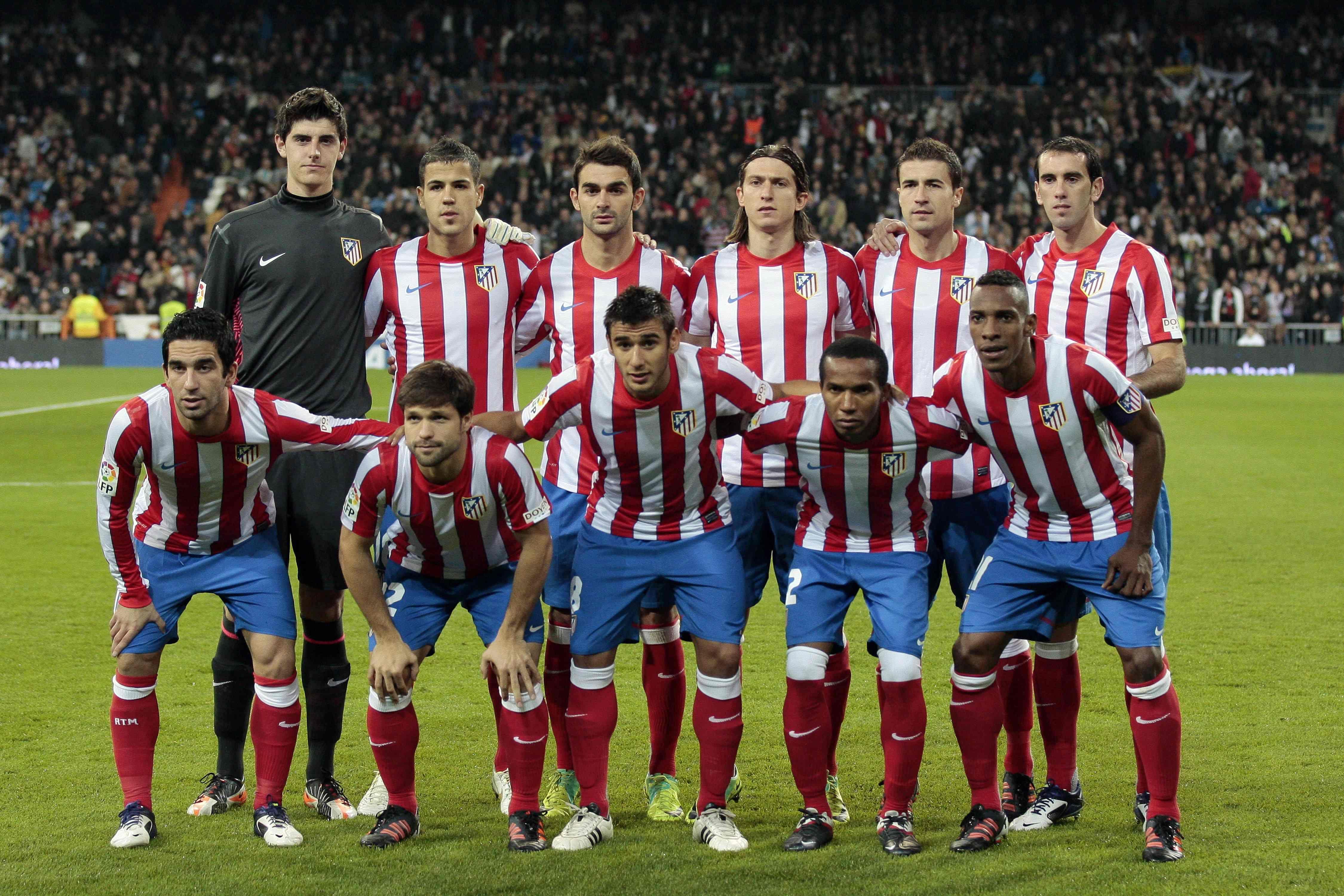 2011/12 At.Madrid Joueur de football, Atlético madrid