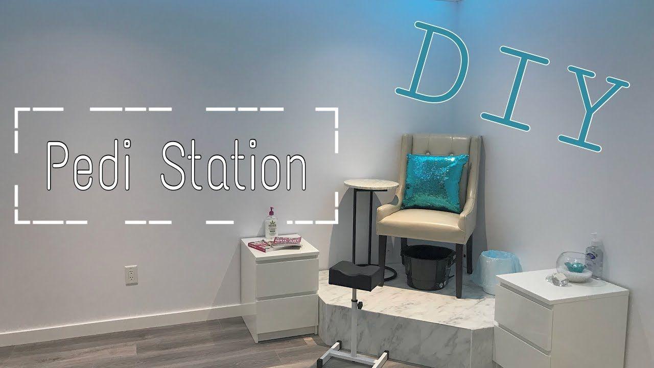 Building A DIY Pedicure Station For Under $150 | DiamondBeauty.Ca