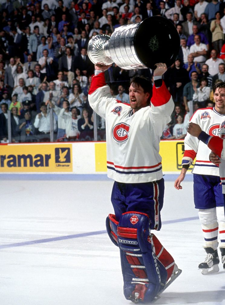 June 9, 1993 The Montreal Canadiens, behind brilliant