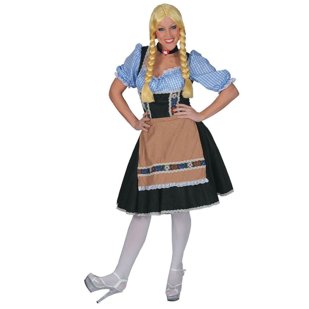 Salzberg Dress with Shirt Halloween Costume for Women