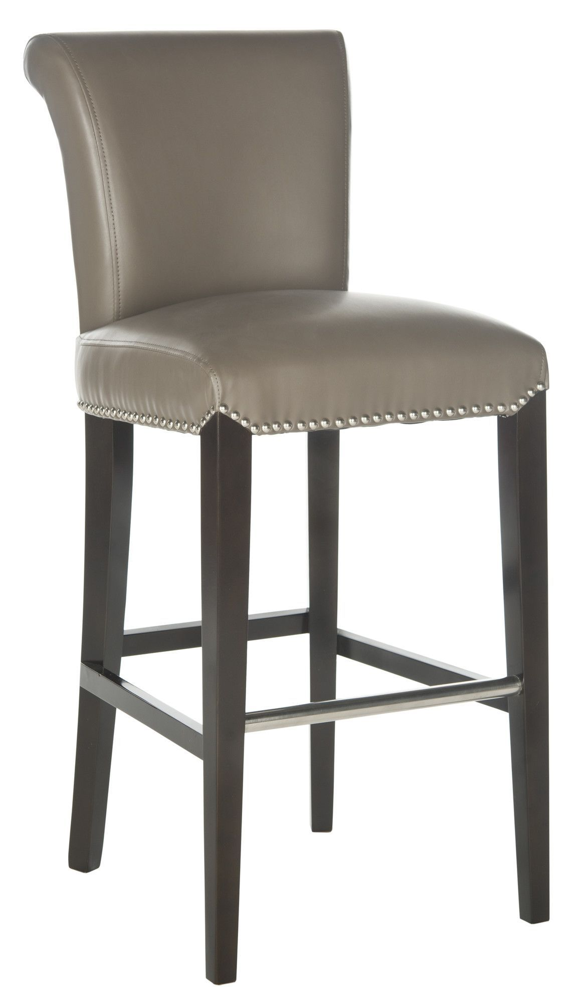 Features: -Material: Birchwood. -Wood Color: Espresso. -Upholstery ...
