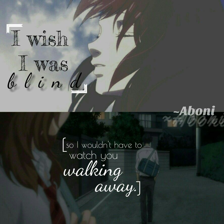 Pain Love Broken Heart Life Quotes Aboni Anime Quotes And