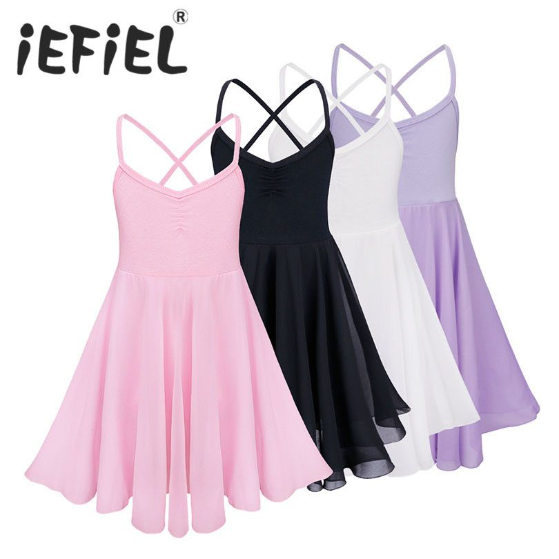 4e3352a7d33c Princess Ballerina Fairy Party Costume Child Girls Gymnastic Ballet ...