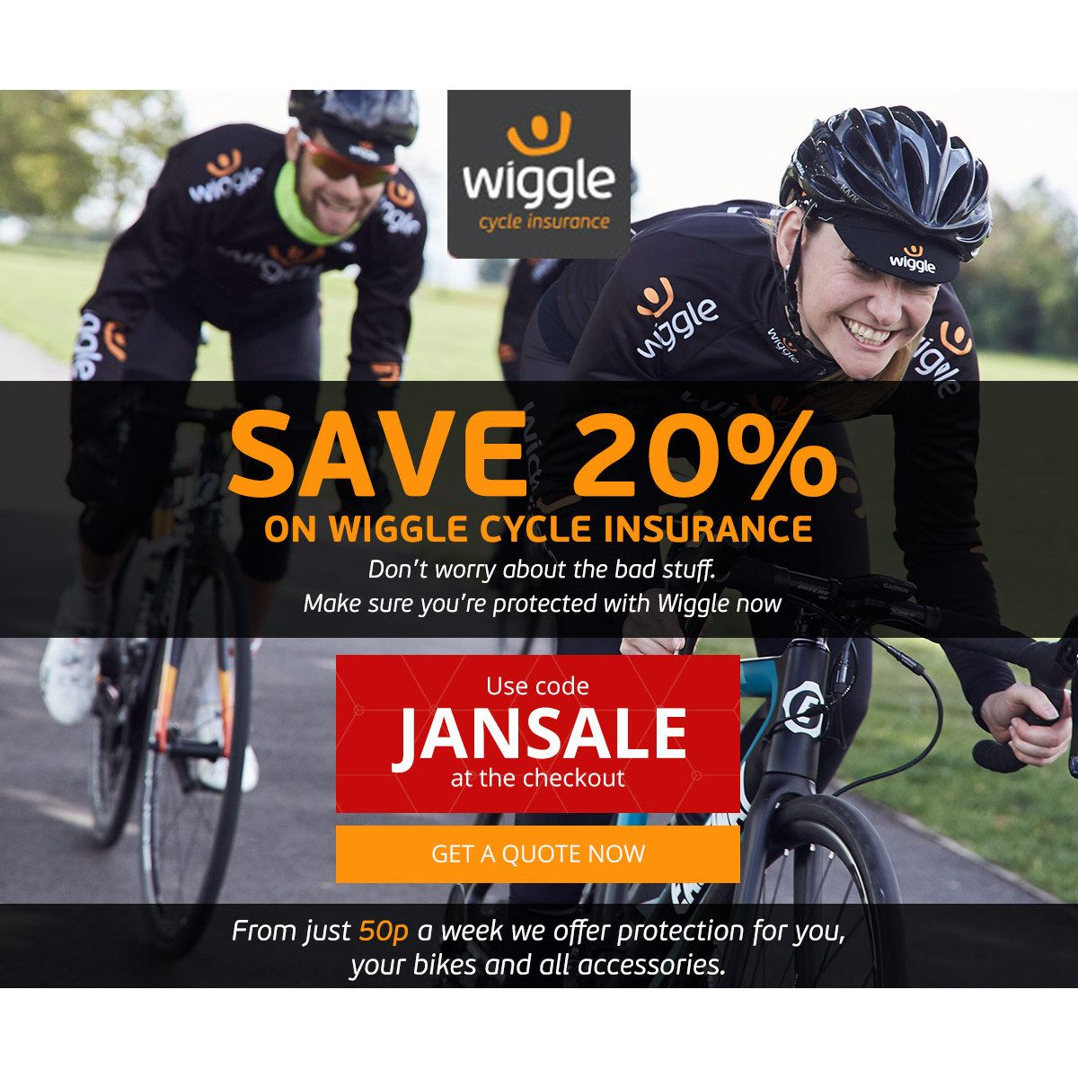 Cover your new Bike - with Bicycle Insurance from Wiggle  CyclingBargains   Bike  BikeBargains bf592a853