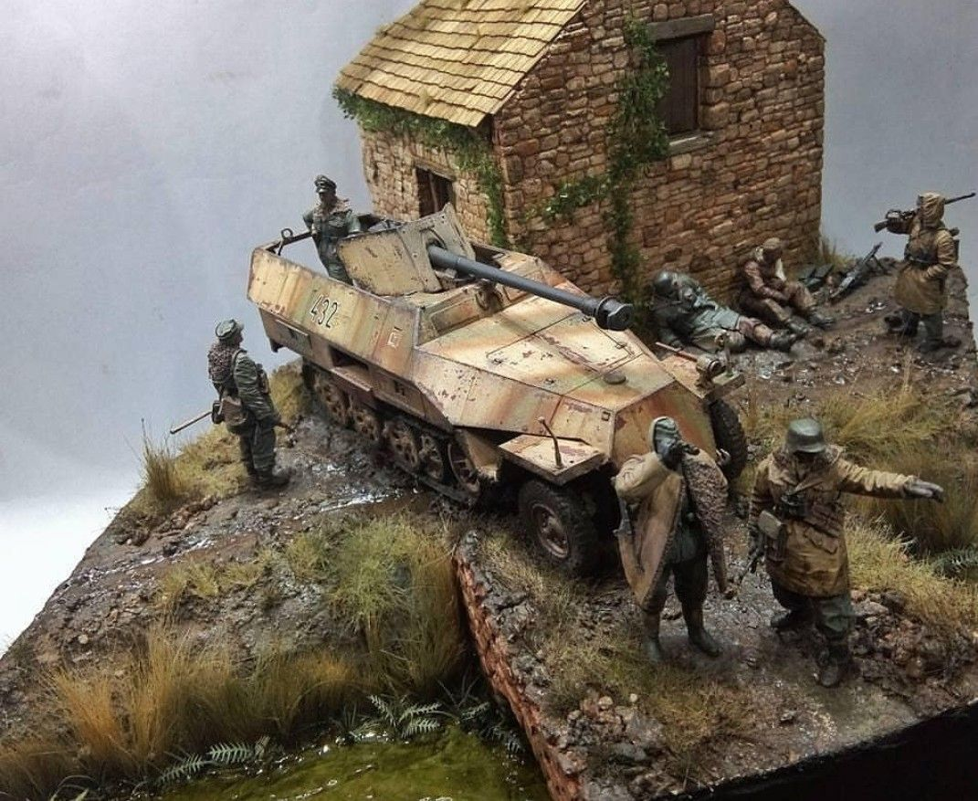 Pin by Michael on Models | Military diorama, Diorama, Scale