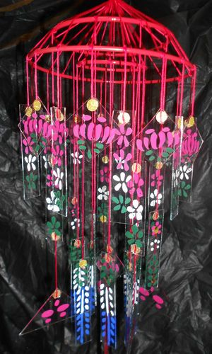 Japanese Glass Windchime Grandma Had One Like This Such A Delicate Sound It Would Make In The Breeze Glass Wind Chimes Wind Chimes Windchimes