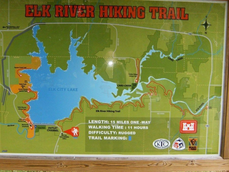 Elk River Hiking Trail Elk City Elk River Hiking Trails