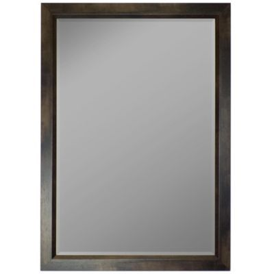 Hitchcock Butterfield Mahogany Profile Edge 16 X 34 Wall Mirror In Espresso Brown Frames On Wall Mirror Gallery Wall Oversized Wall Mirrors