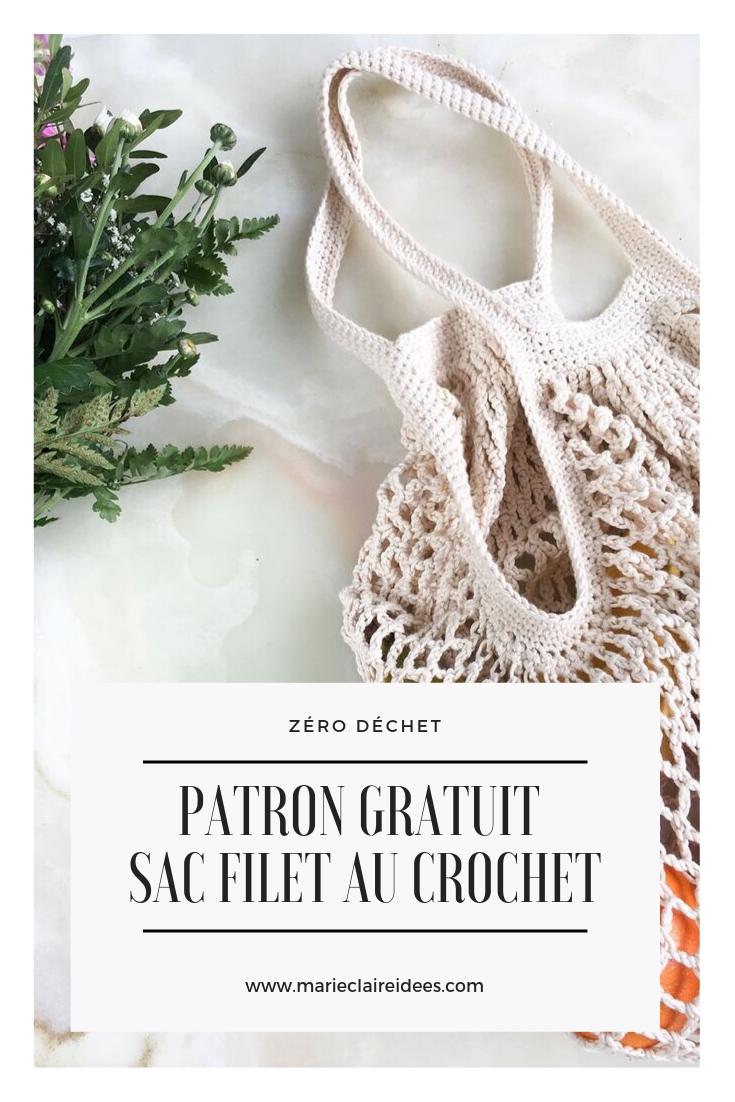 sac filet tuto sac crochet