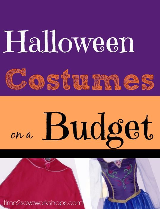 How to Save Halloween Costumes on a Budget Homemade, Halloween - no cost halloween costume ideas