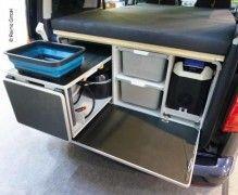 Mobile cucina posteriore Box campeggio per VW Caddy, Citroen ...