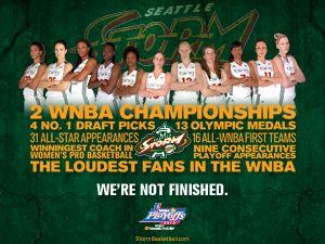 Seattle Storm Storm Playoffs Basketball Playoffs