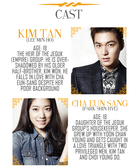 Heirs 상속자들 왕관을 쓰려는 자 그 무게를 견뎌라 Watch Full Episodes Free Korea Tv Shows Viki The Heirs Lee Min Ho Korean Drama Series